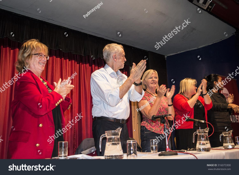 margate ukseptember 5 jeremy corbyn now stock photo 316073300