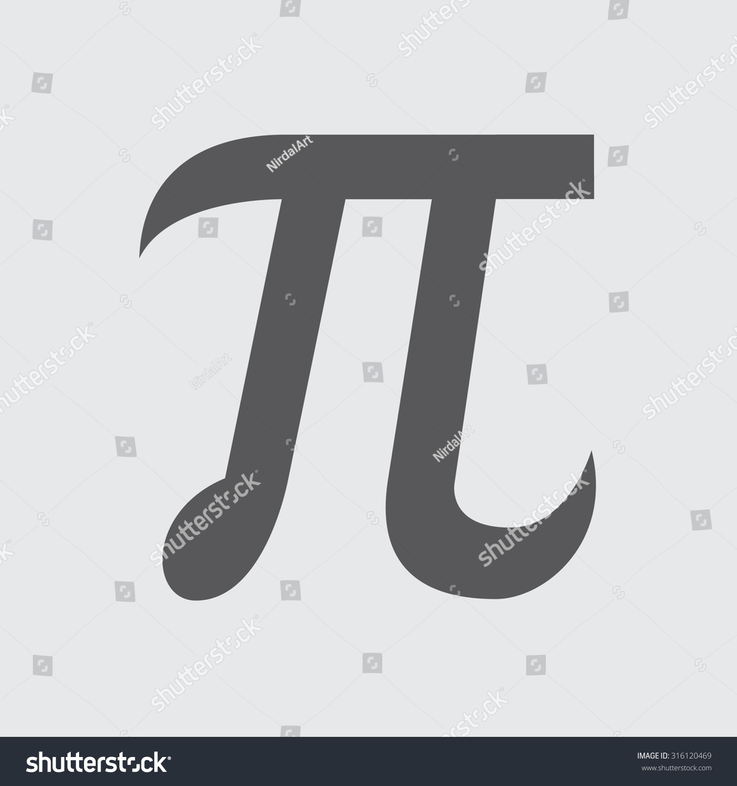 Pi symbol icon stock vektorgrafik 316120469 shutterstock pi symbol icon biocorpaavc Image collections