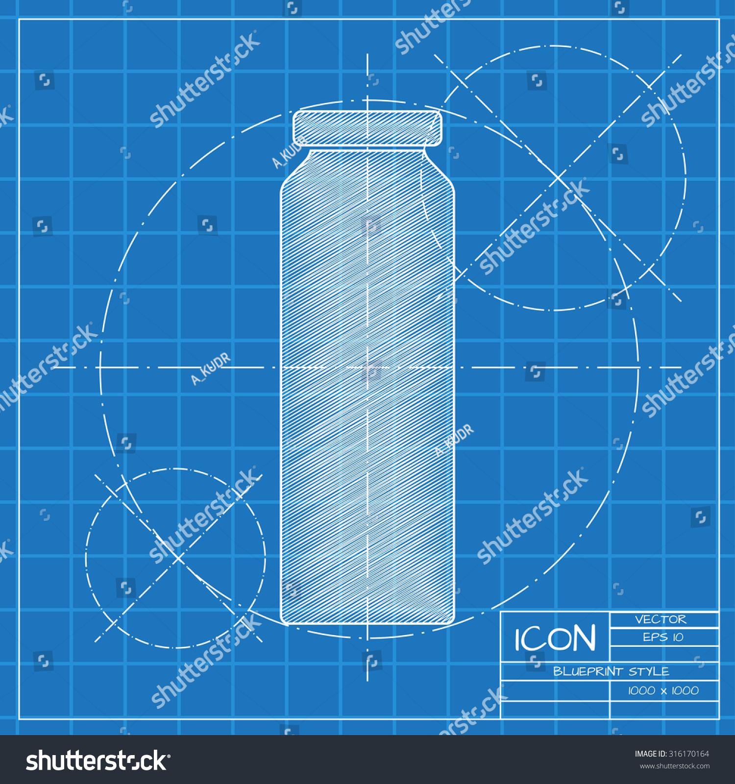 Vector blueprint bottle juice template on stock vector 316170164 vector blueprint bottle juice template on stock vector 316170164 shutterstock malvernweather Image collections
