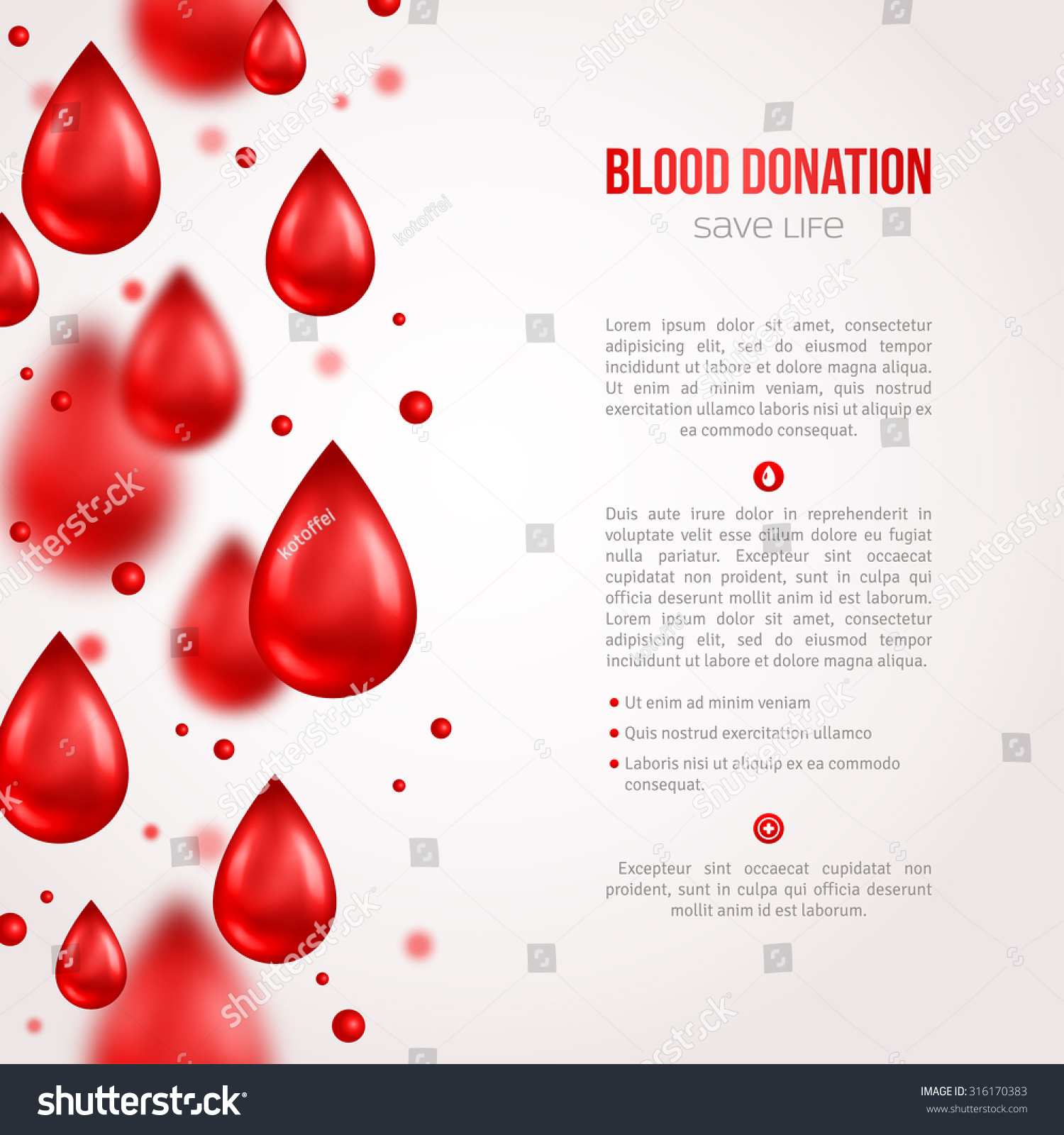 Poster design on blood donation - Donor Poster Or Flyer Blood Donation Lifesaving And Hospital Assistance Vector Illustration World