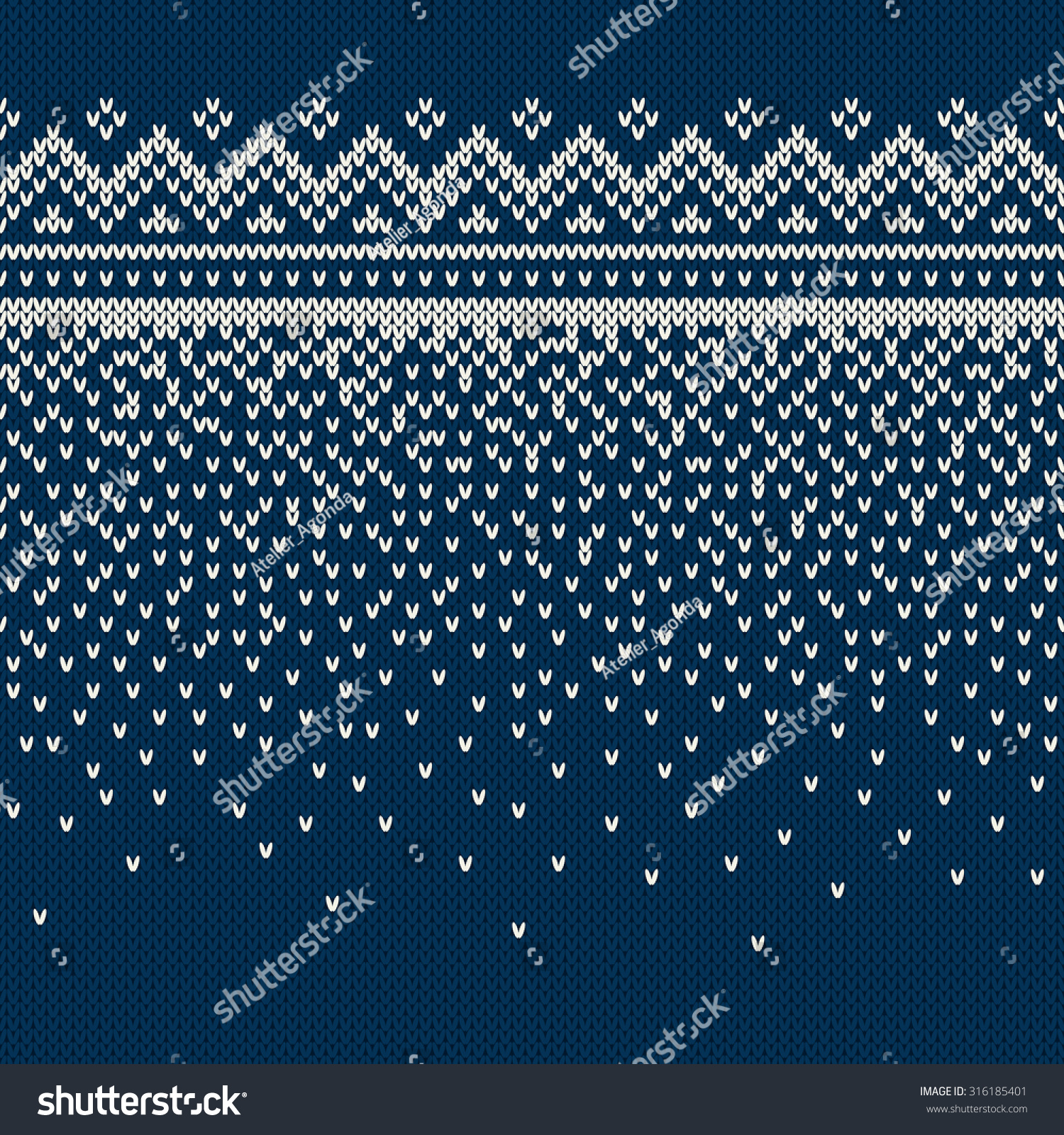 Christmas Sweater Design. Seamless Knitting Pattern Stock Vector Illustration...
