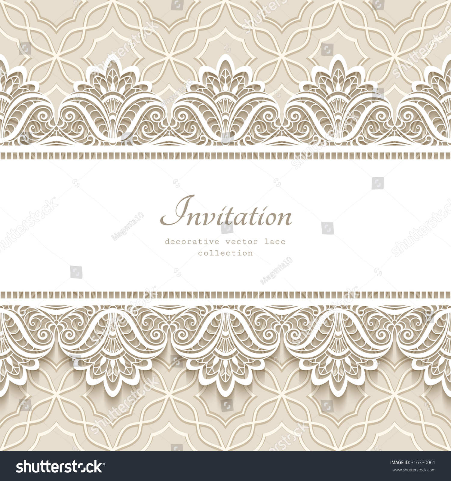 878c24c274 Royalty-free Vintage lace background with seamless…  316330061 Stock ...