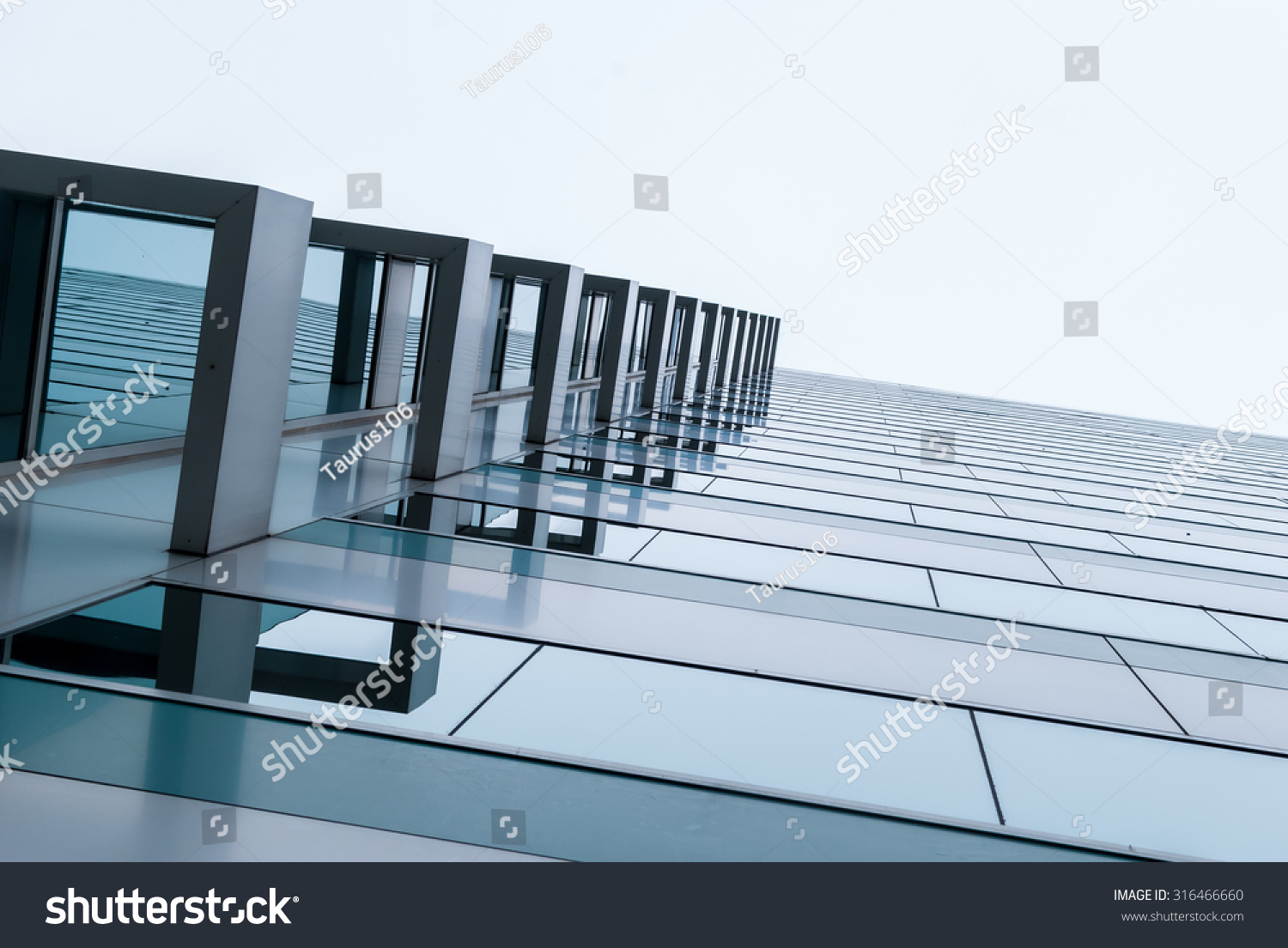 urban geometry looking glass building modern stock photo 316466660 shutterstock. Black Bedroom Furniture Sets. Home Design Ideas