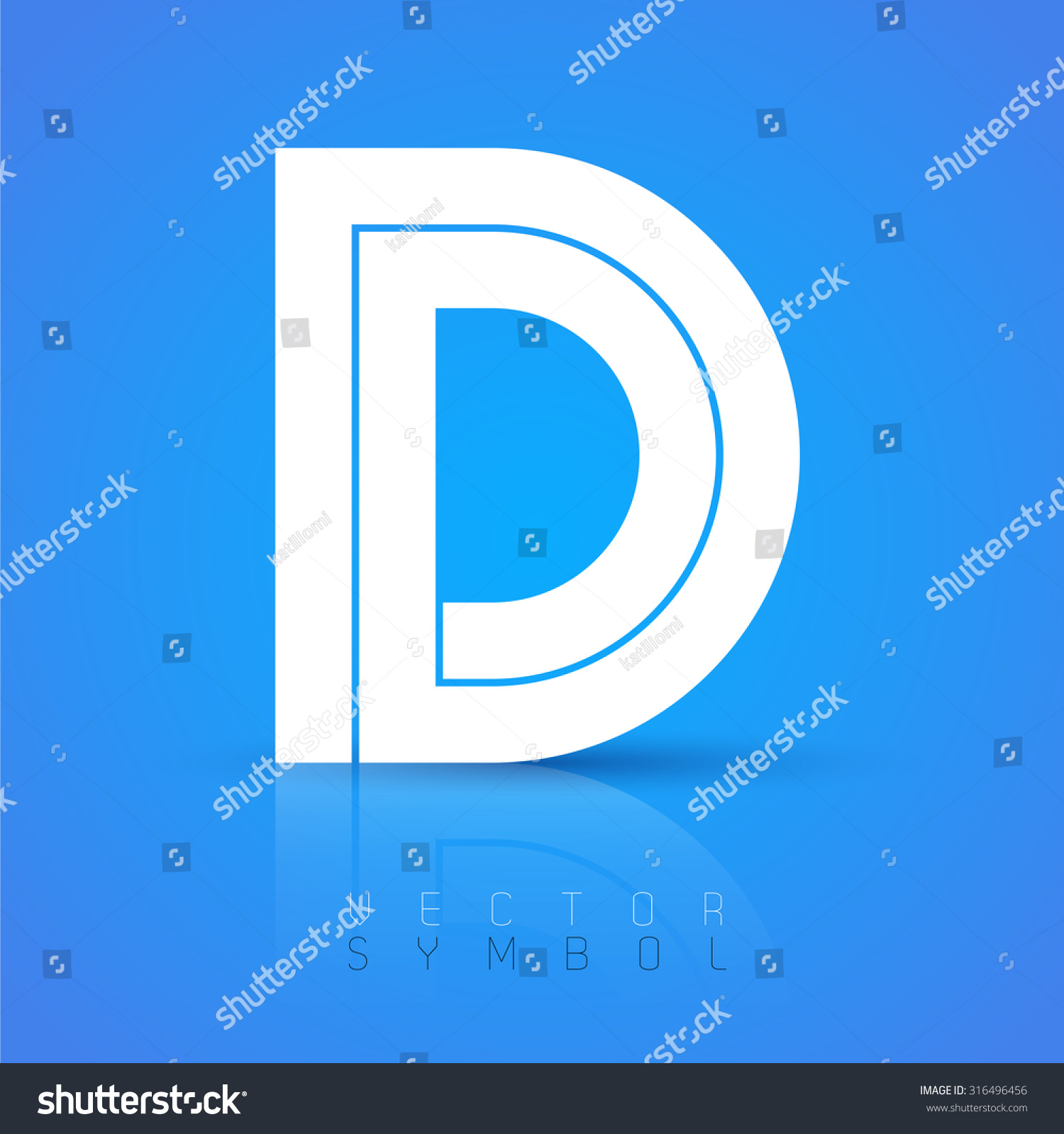 letter a text symbol vector graphic font with sample text symbol 18187