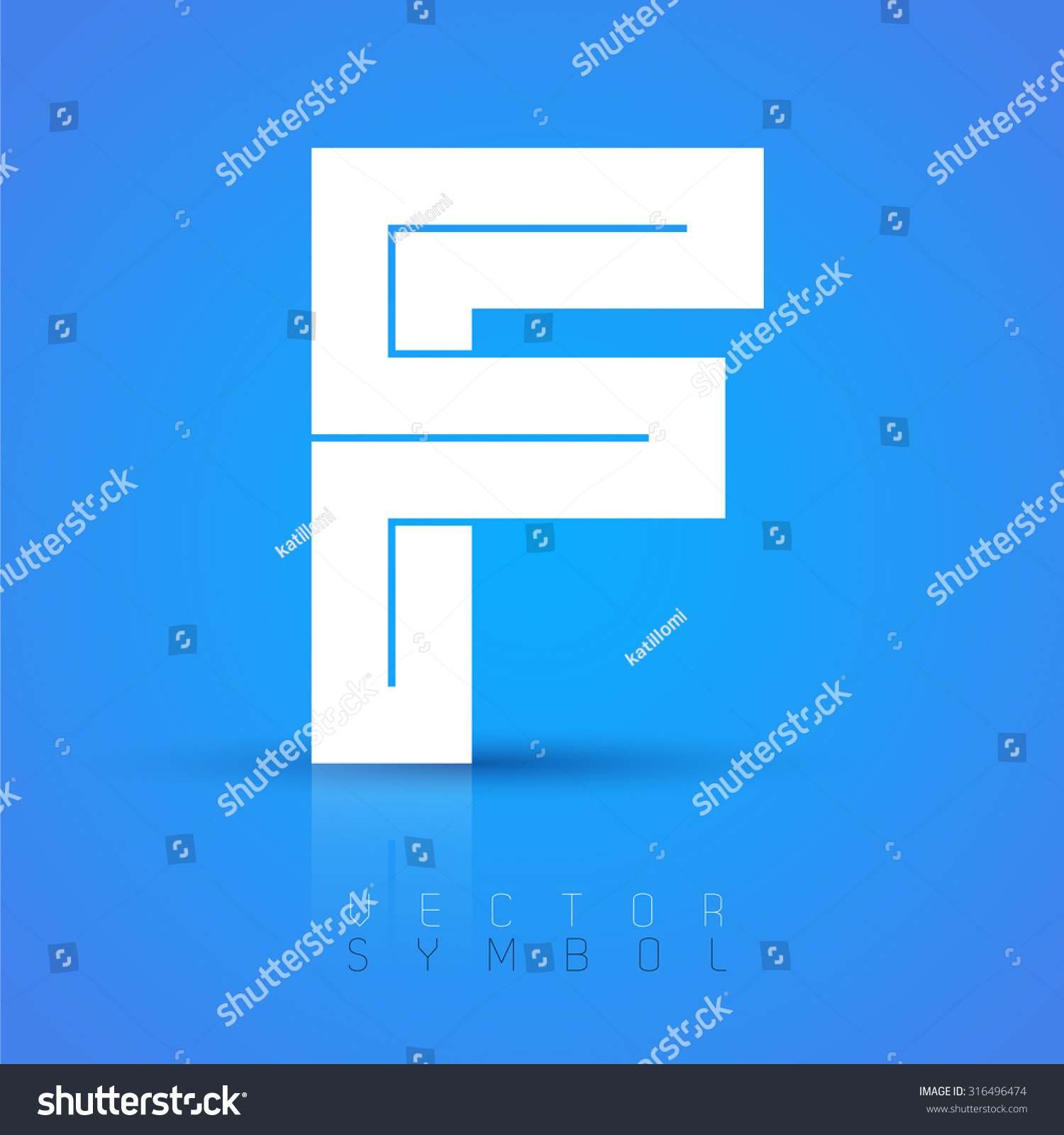 letter a text symbol vector graphic font sample text stock vector 18187