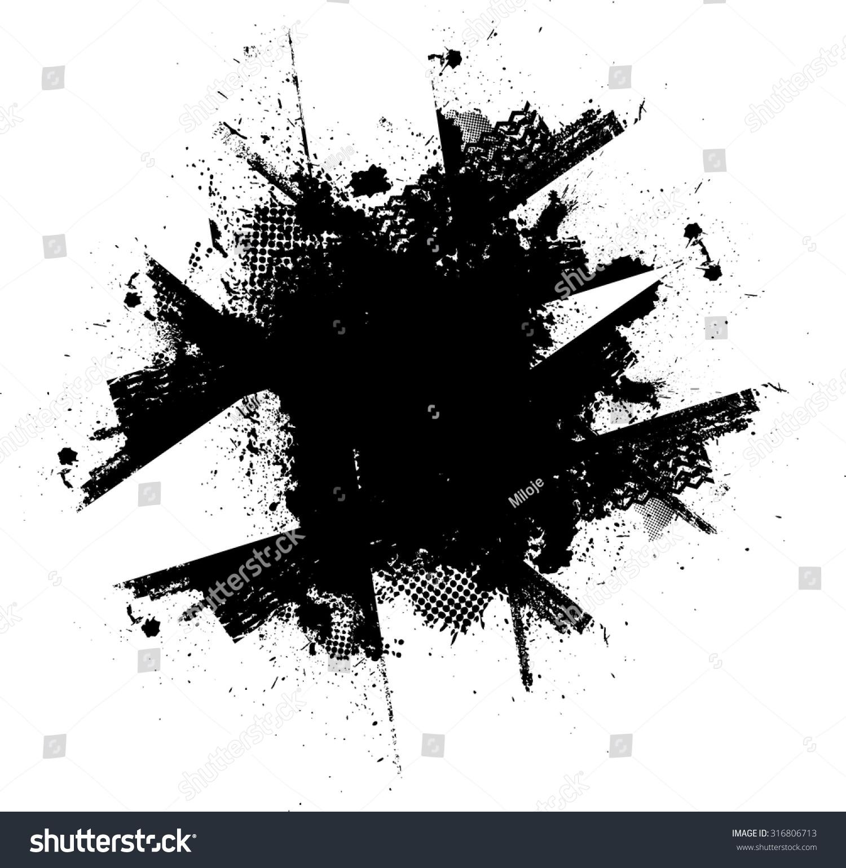 splatter background black ink splats spray paint splatters. Black Bedroom Furniture Sets. Home Design Ideas