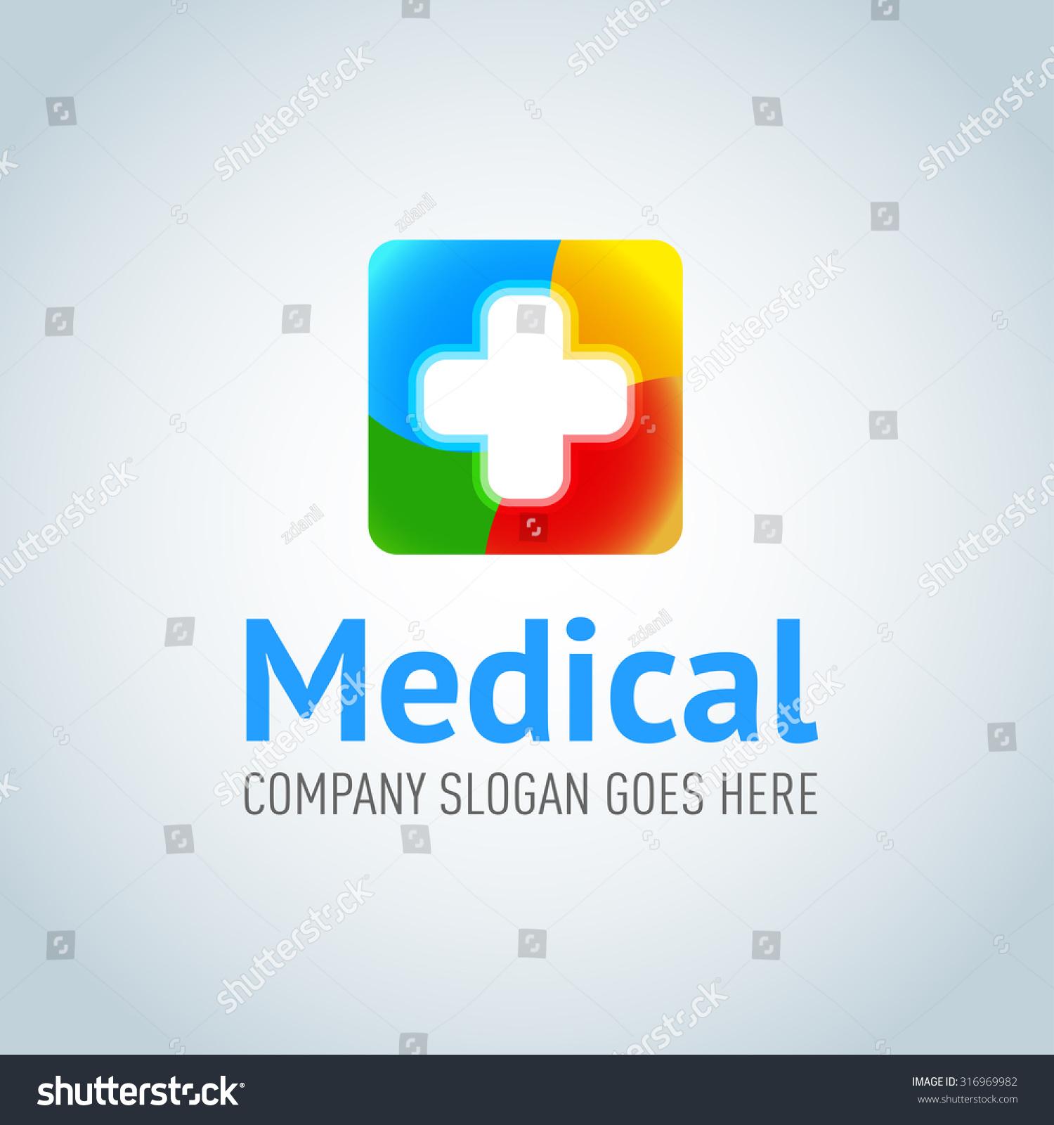 Medical Application Logotype Template Medical Pharmacy Stock ...