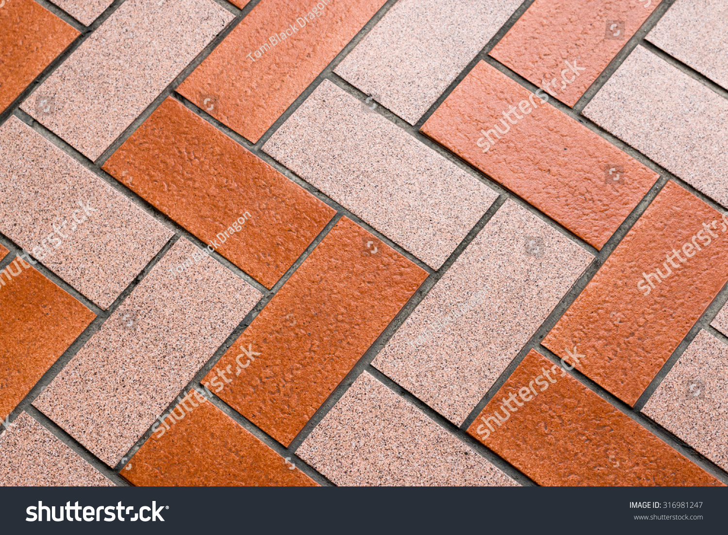 Tile Block Pattern Footpath Tiling House Stock Photo (Royalty Free ...
