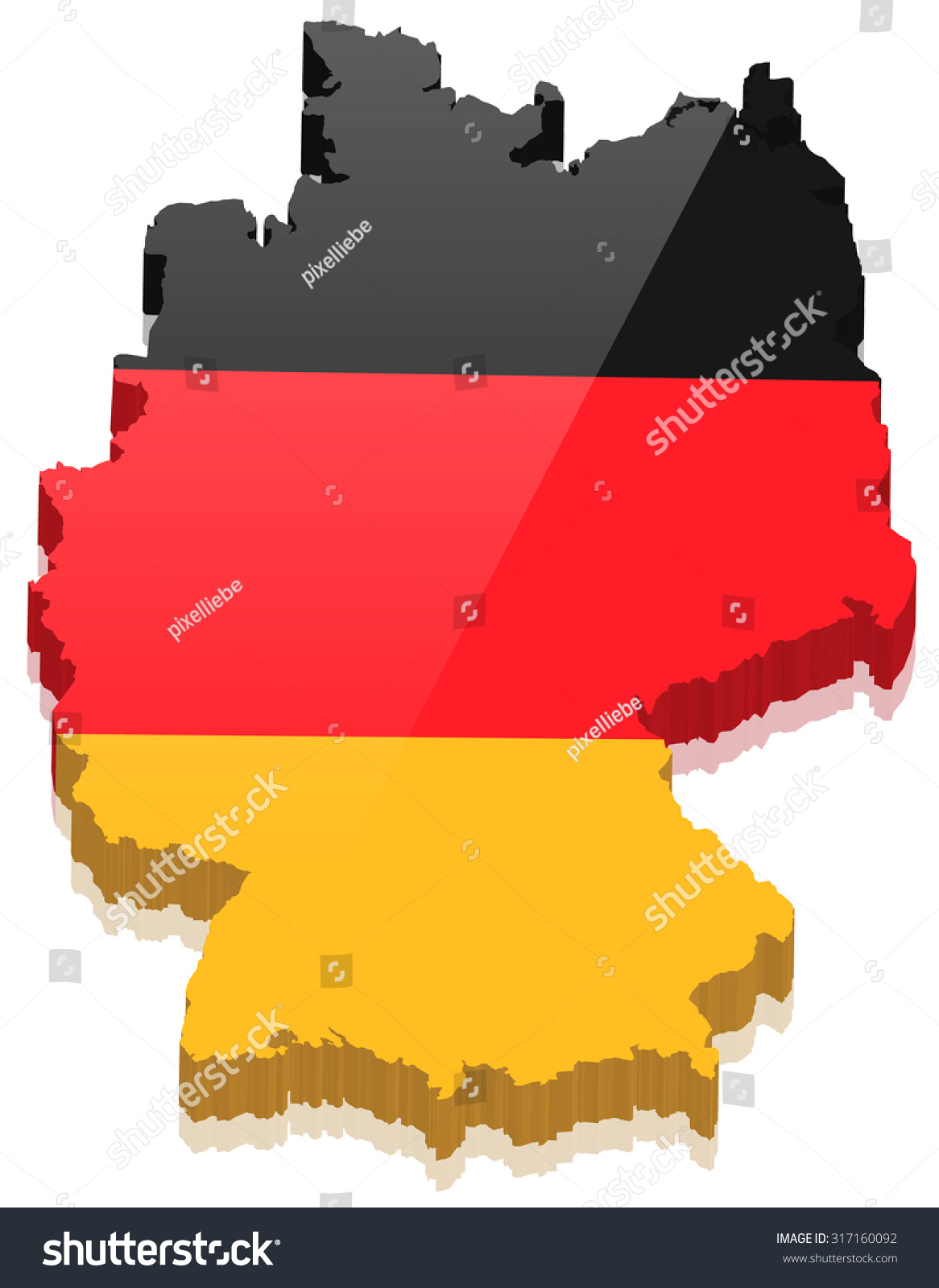Germany Map Vector Maps For Terraria Map Of Mediterranean - Germany map vector