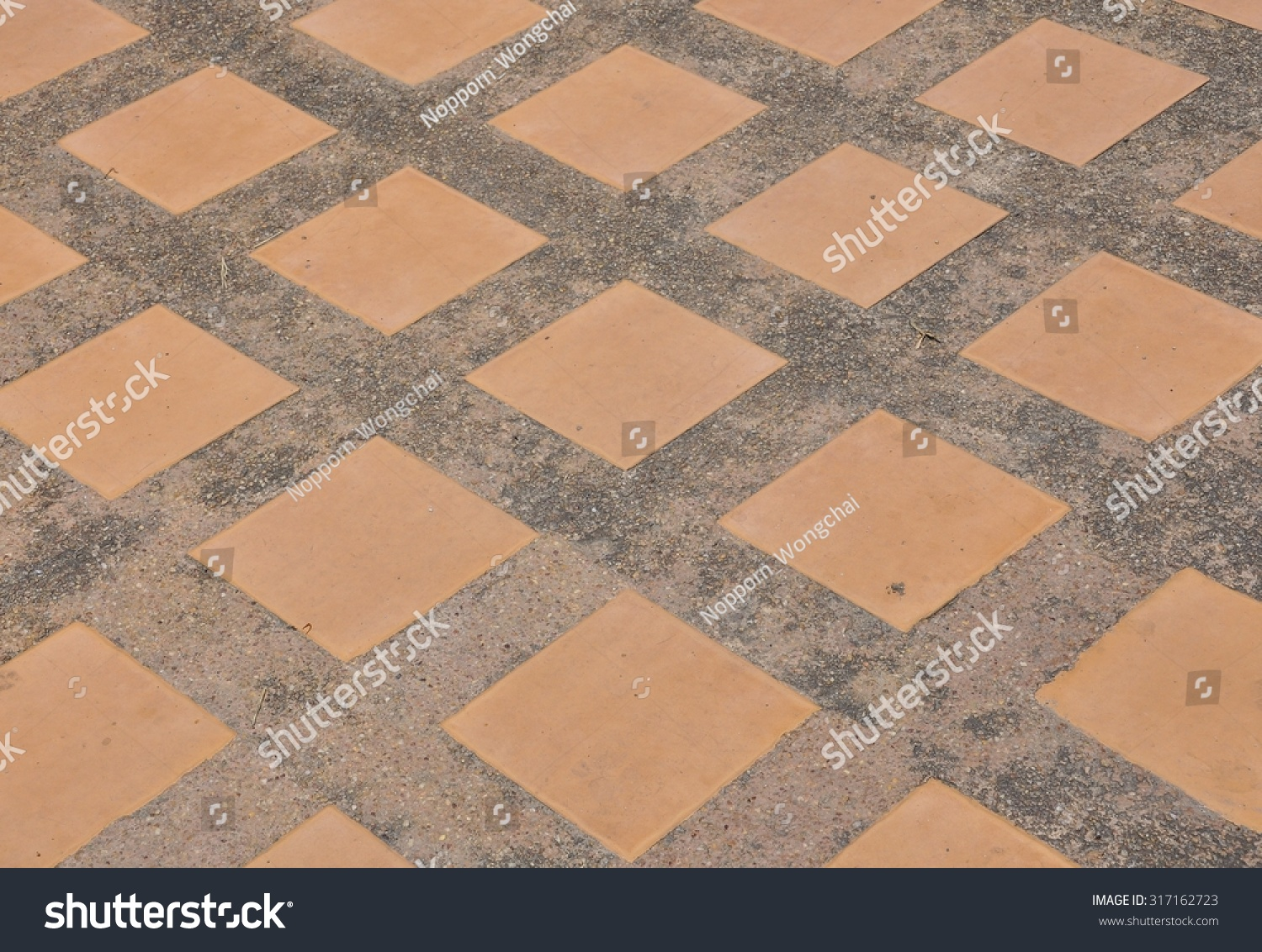 Brown tile on floor temple stock photo 317162723 shutterstock brown tile on the floor at temple dailygadgetfo Images