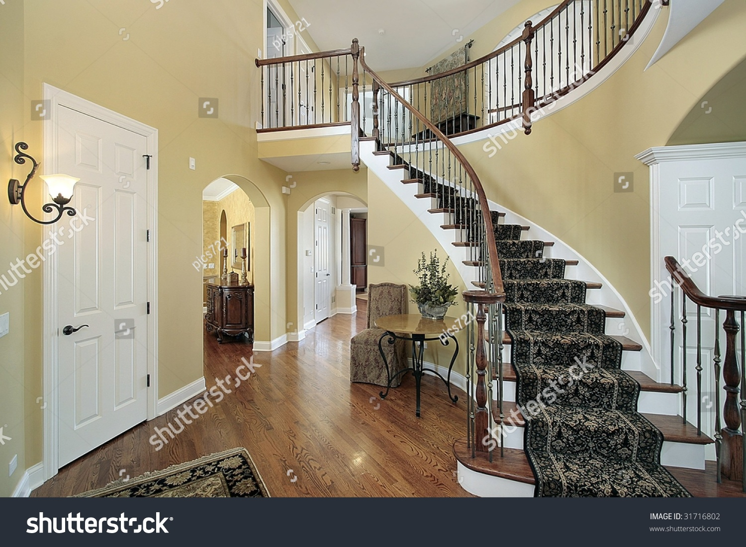 Foyer Stairs Utah : Staircase pictures warm home design