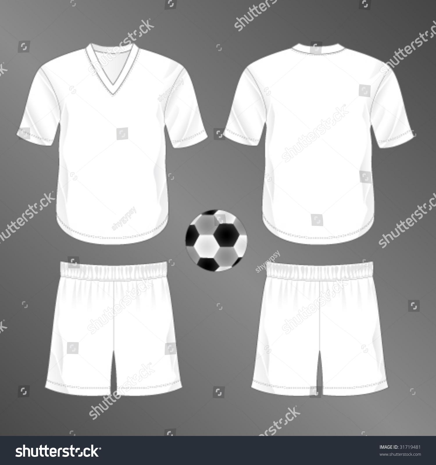 sports series realistic team soccer european stock vector royalty