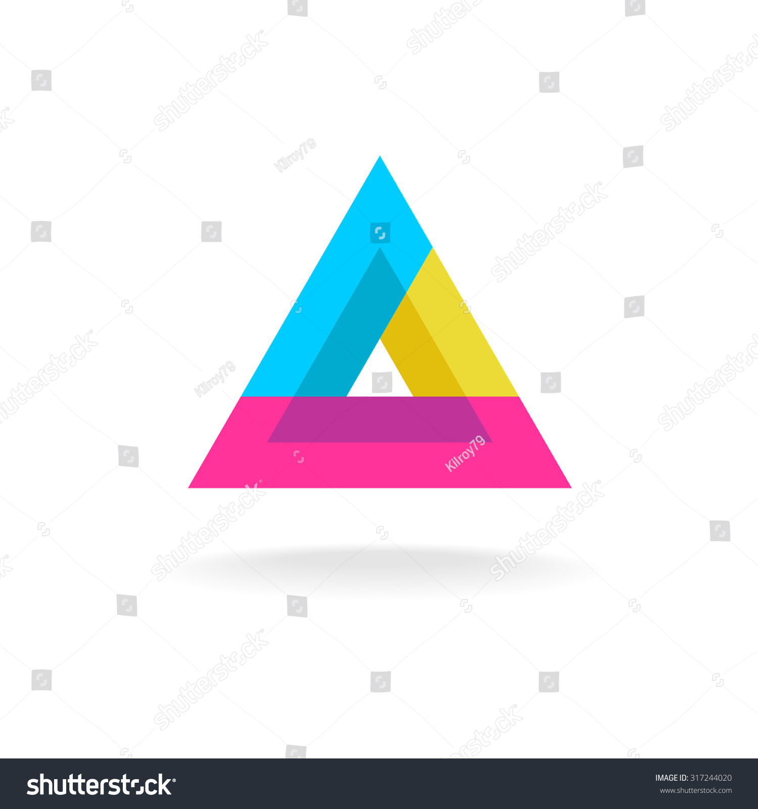 Royalty free colorful triangle abstract delta symbol 317244020 colorful triangle abstract delta symbol logo 317244020 buycottarizona