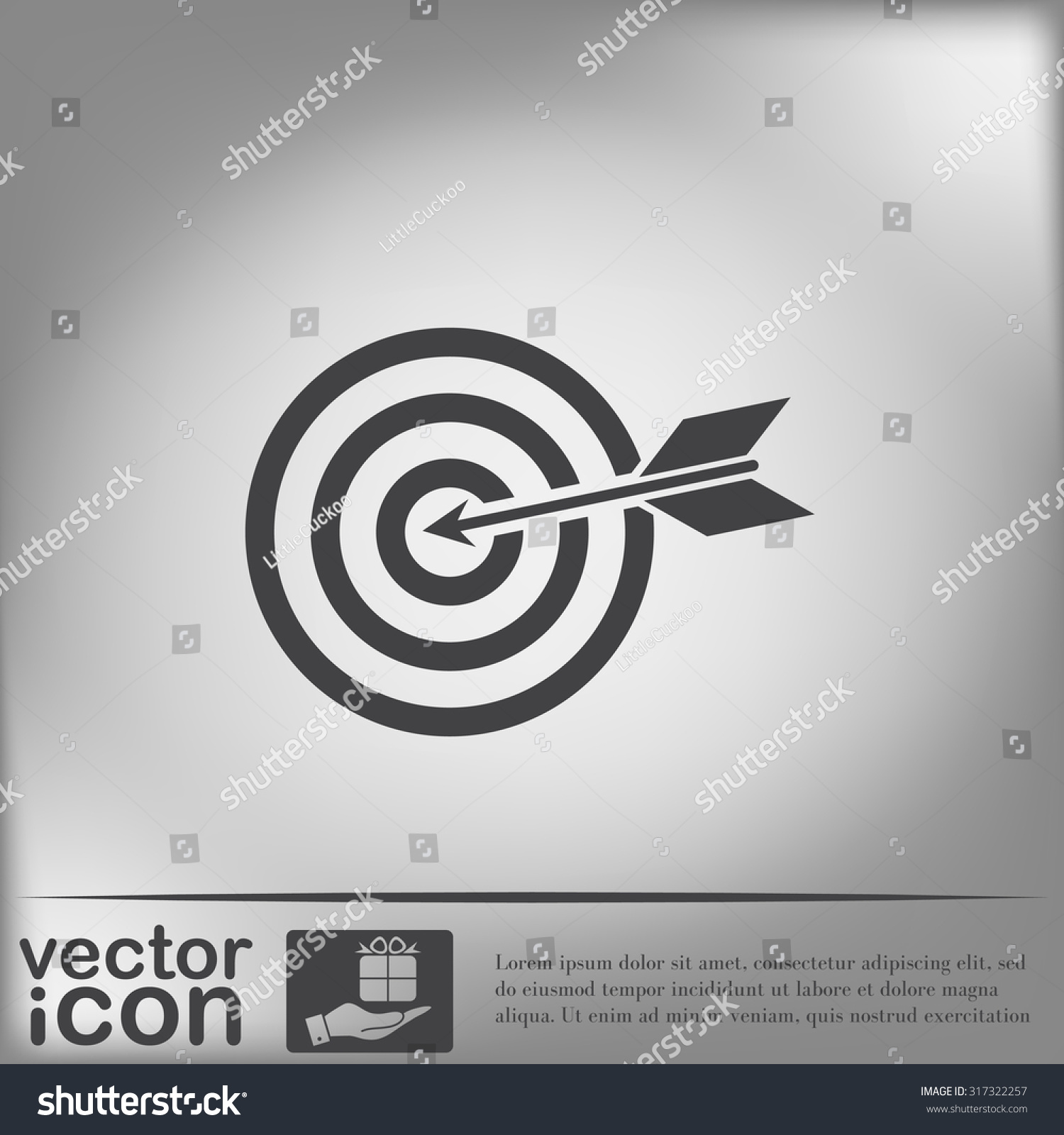 Target symbol sporty character hit target stock vector 317322257 target symbol sporty character hit the target buycottarizona Image collections