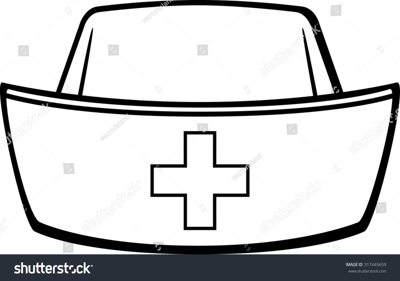 Nursing Hat Clip Art nurse cap stock vector illustration 317445659 ...