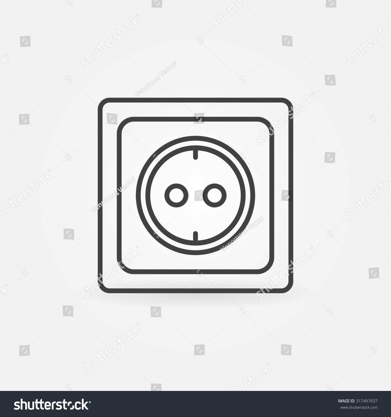 rechargeable outlet symbol