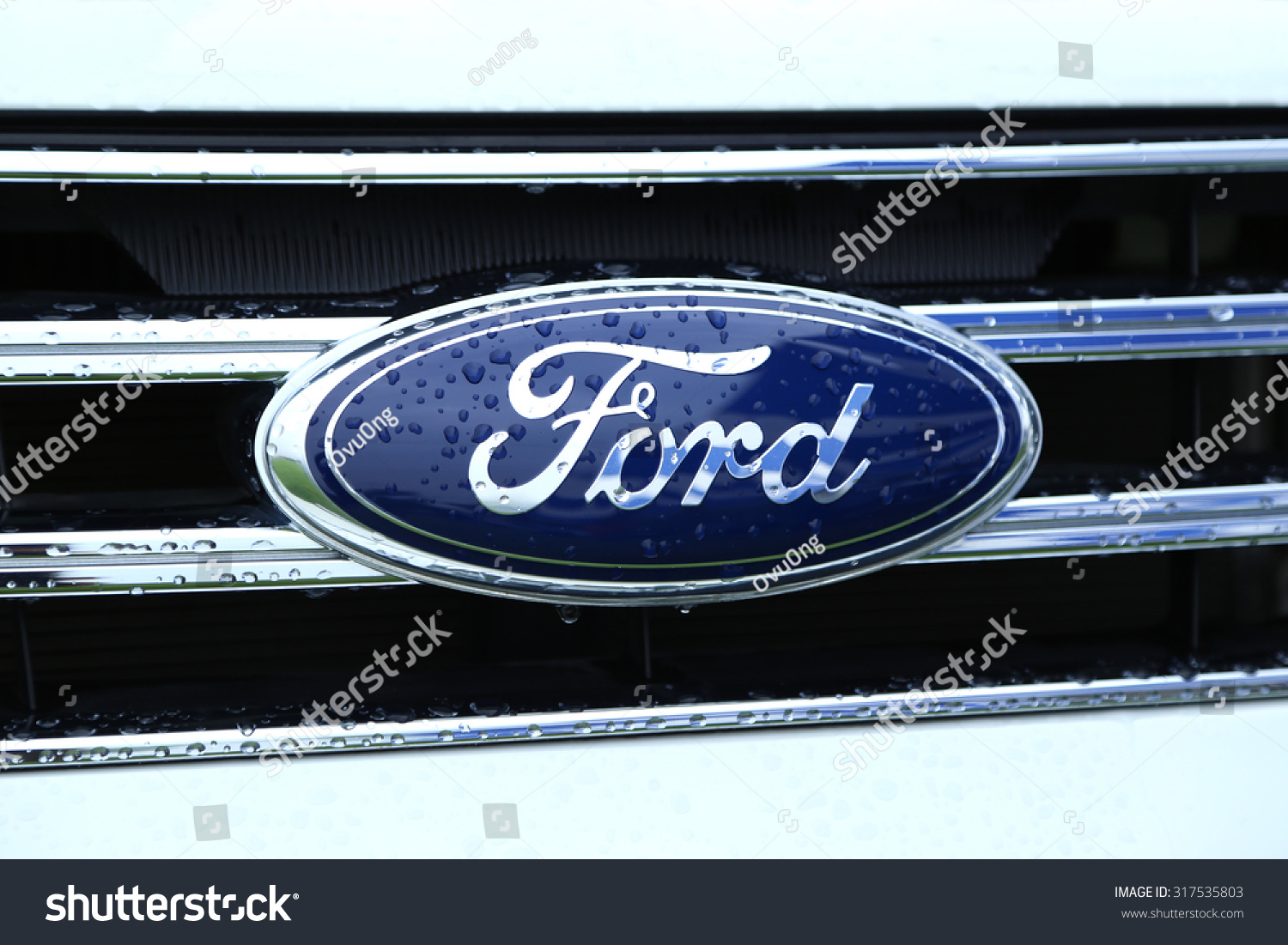 Berlin Germany March 26 2017 Ford Logo Ford Motor Company Is