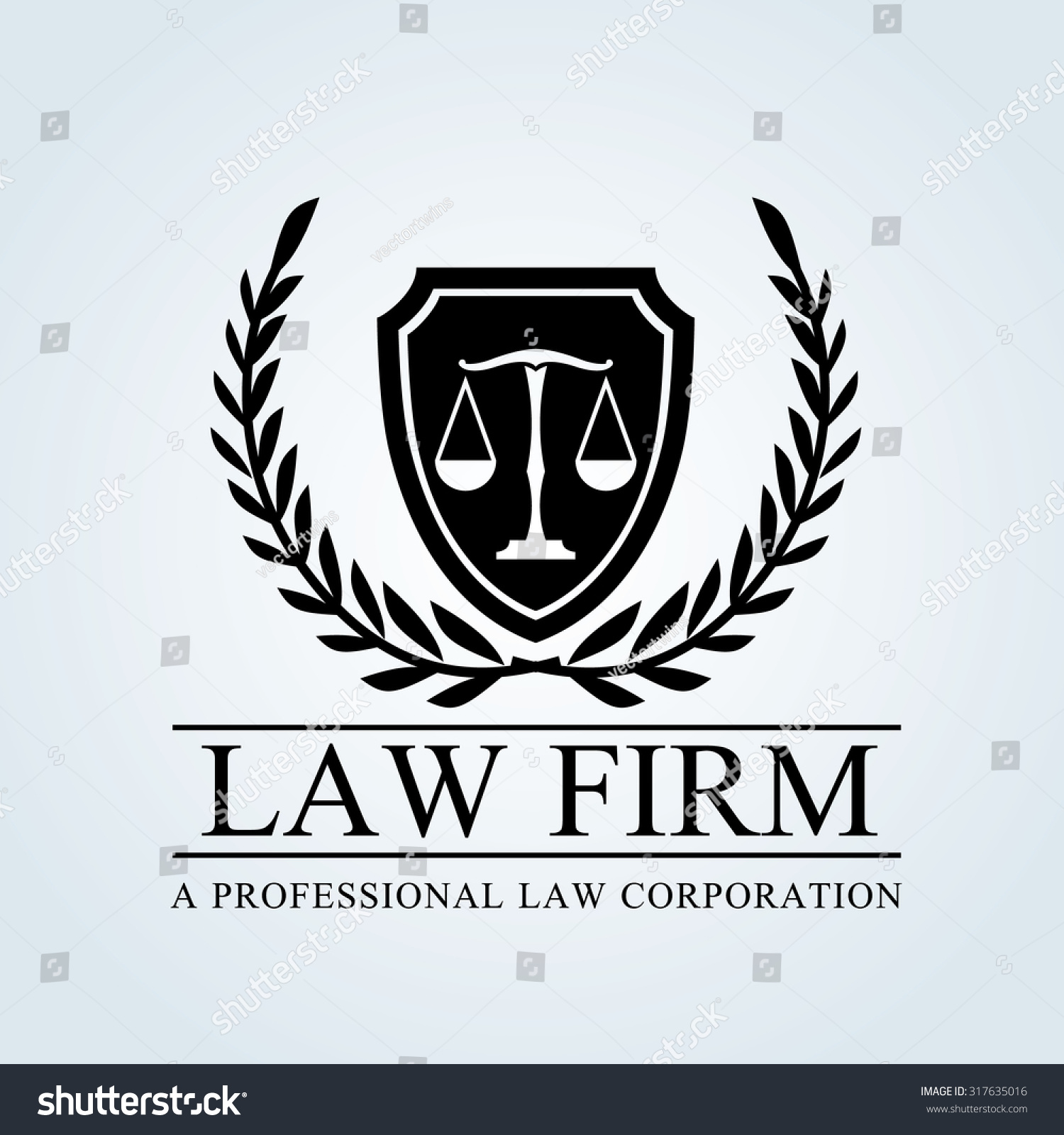 royalty free law firm logo template 317635016 stock photo avopix com