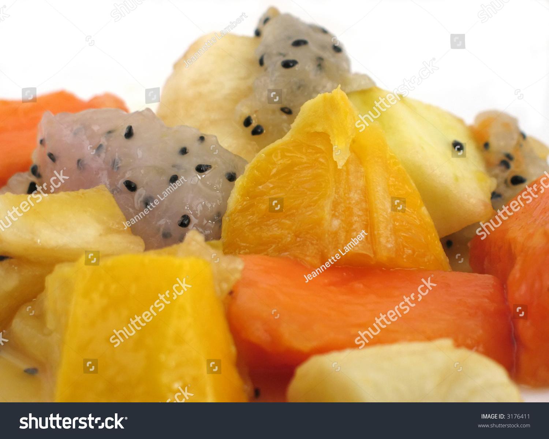 mango fruit salad orange fruit