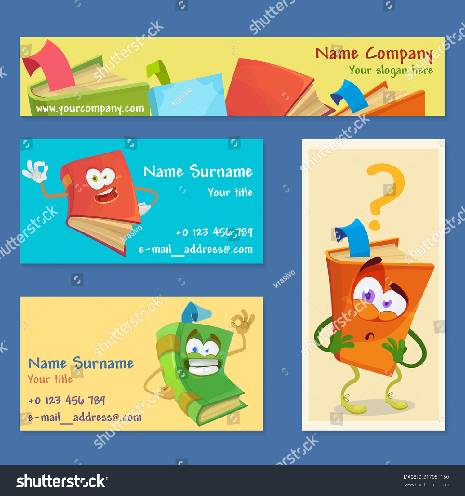 Cartoon Business Cards Gallery - Free Business Cards