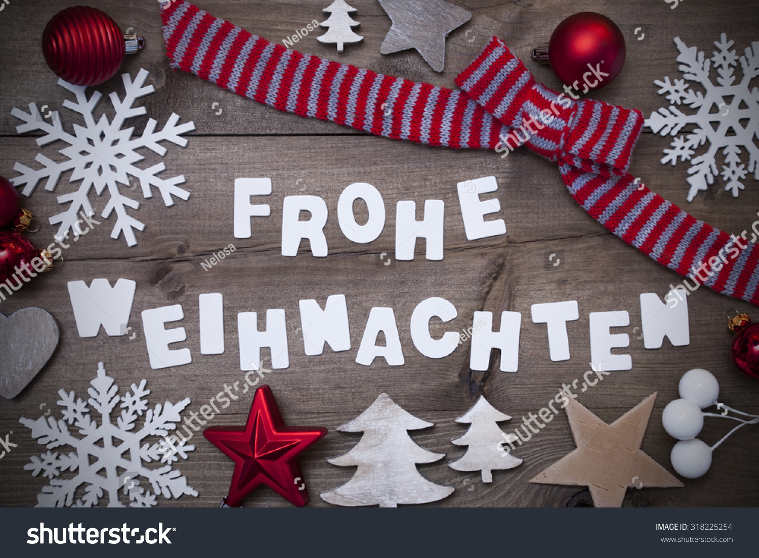 white letters german frohe weihnachten means stock photo. Black Bedroom Furniture Sets. Home Design Ideas