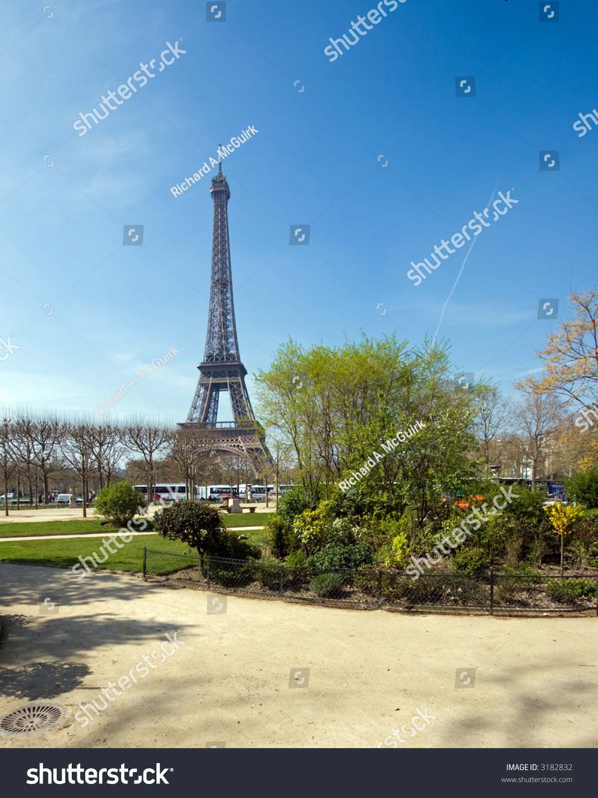 Color Dslr Image Landmark Eiffel Tower Stock Photo Edit Now