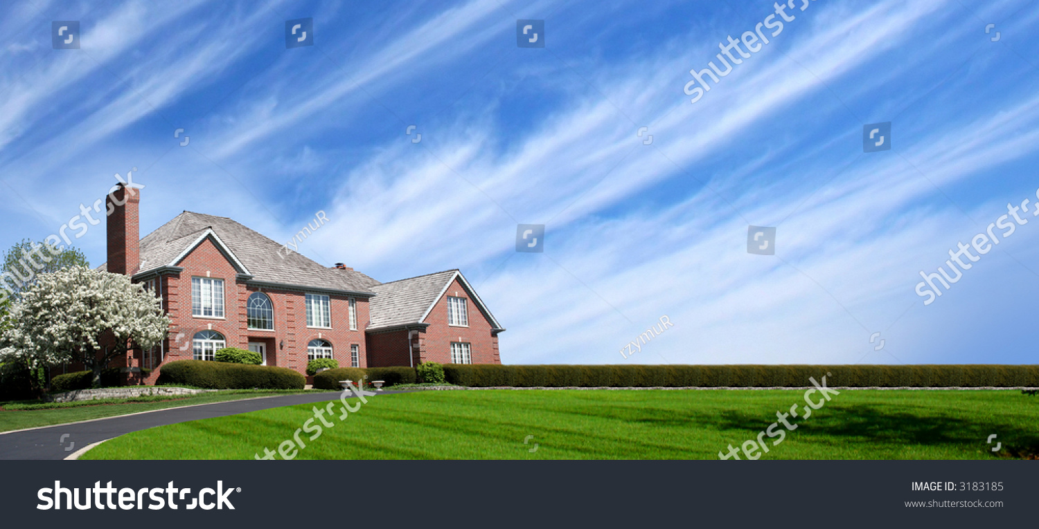 Nice house stock photo 3183185 shutterstock for Nice house photo