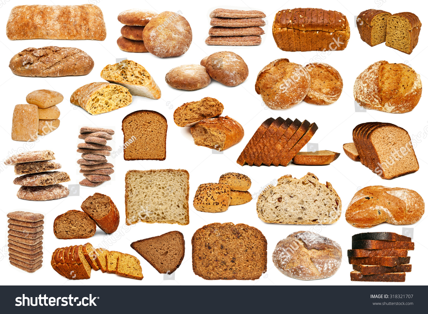 Kinds of Bread - How many have you ever had?