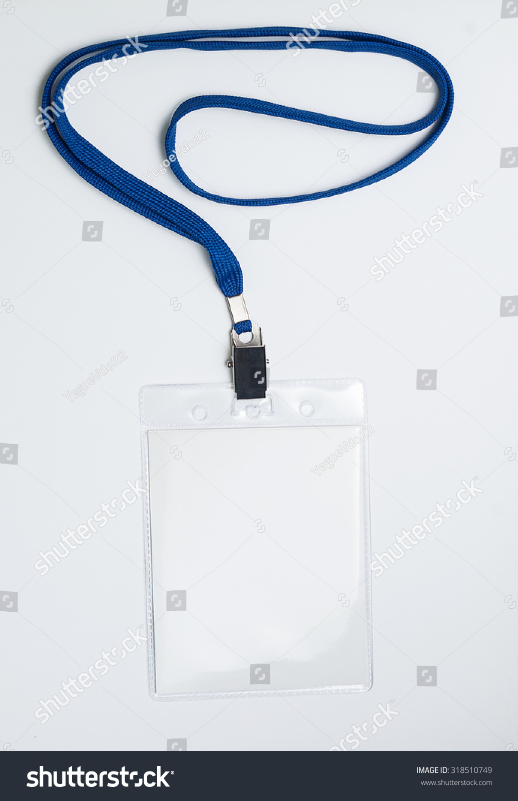 Royaltyfree Lanyard And Badge Conference Badge Stock - Conference badge template