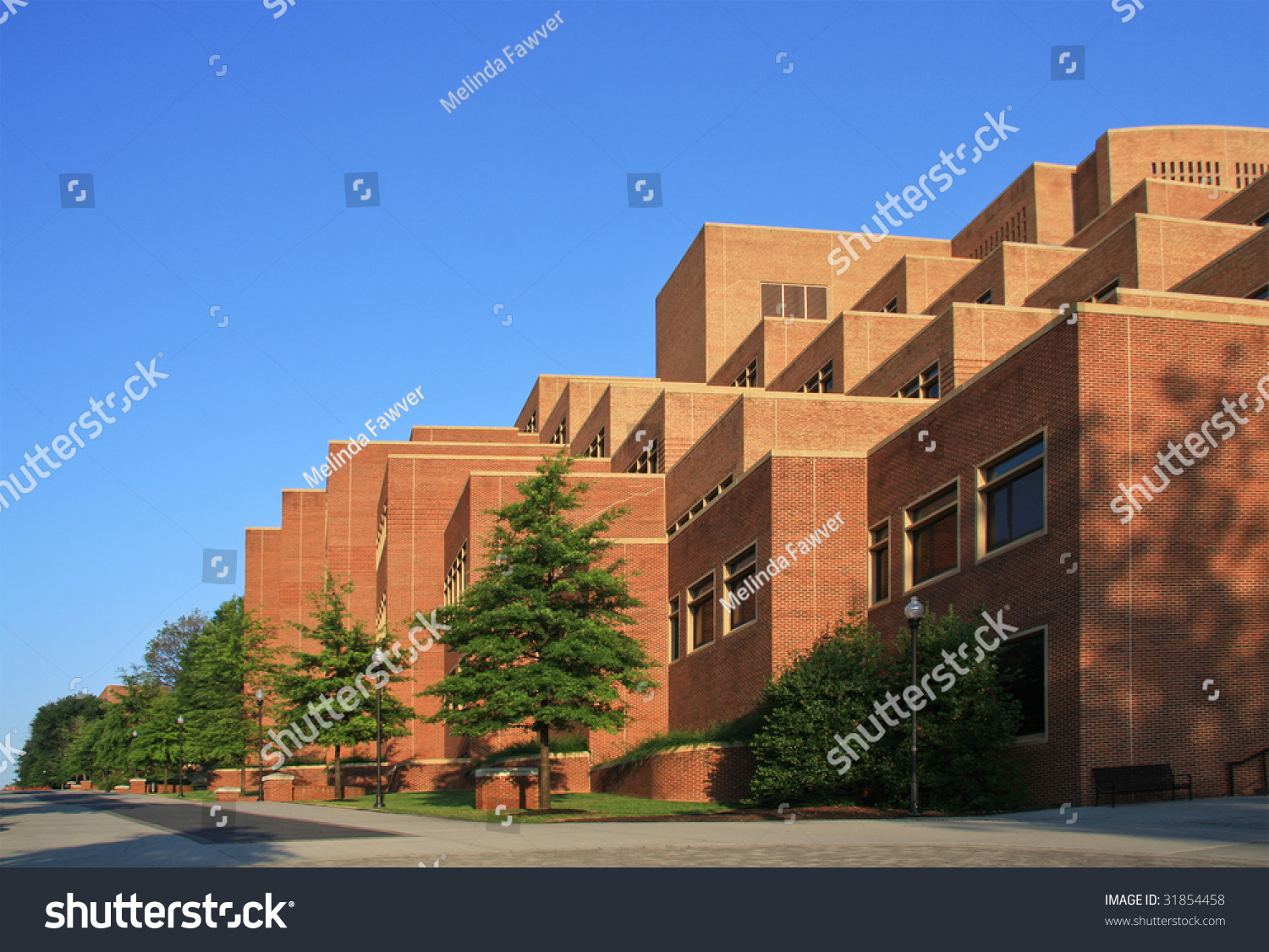 University Tennessee Campus Knoxville Stock Photo 31854458