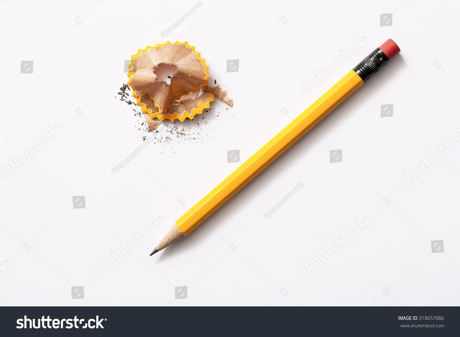 pencil isolated on white background  #318657086