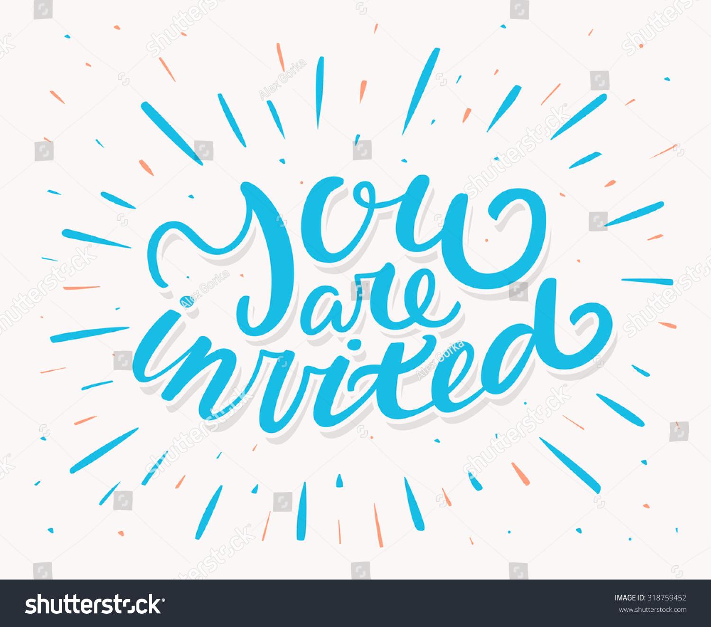 you�re invited invitation templates