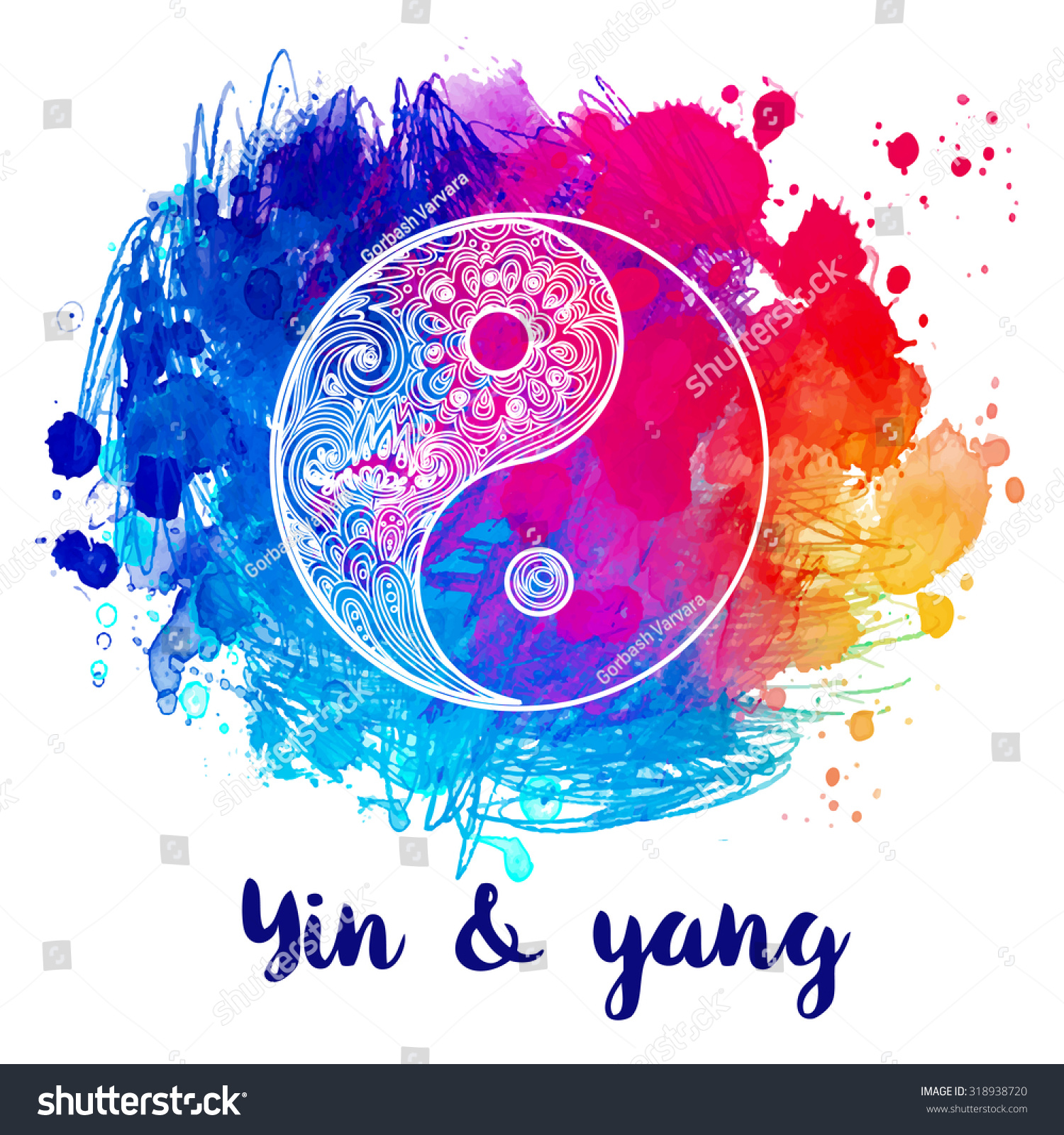 Yin yang designs colorful the image kid for Architecture yin yang