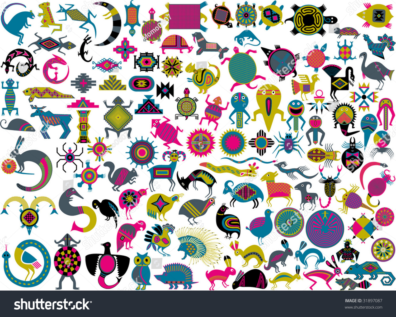 Clip Art Clip Art Symbols art symbols clip stock vector 31897087 shutterstock of art