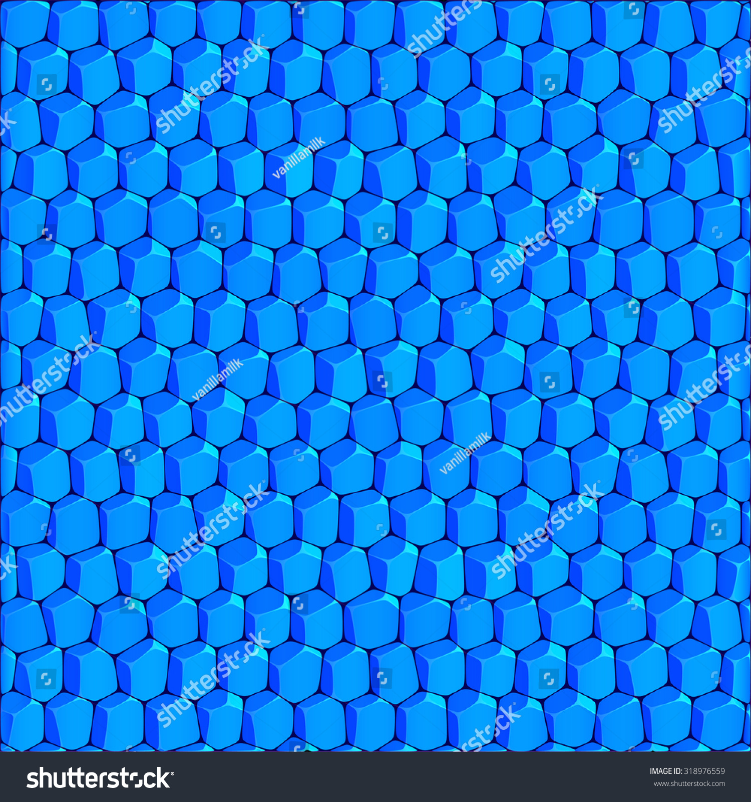 Abstract Geometric Honeycomb Structure Background Bright