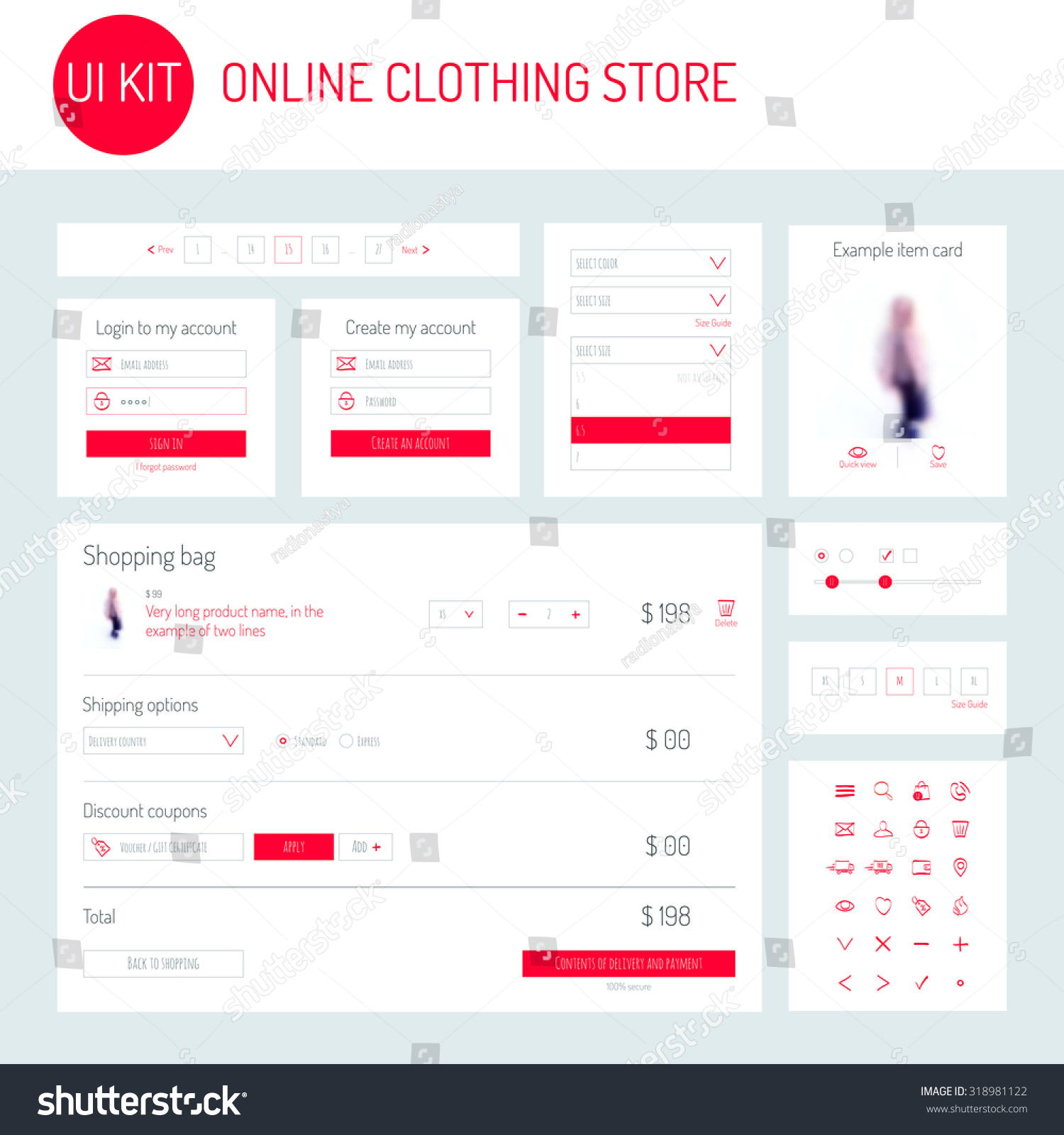 Login clothing store