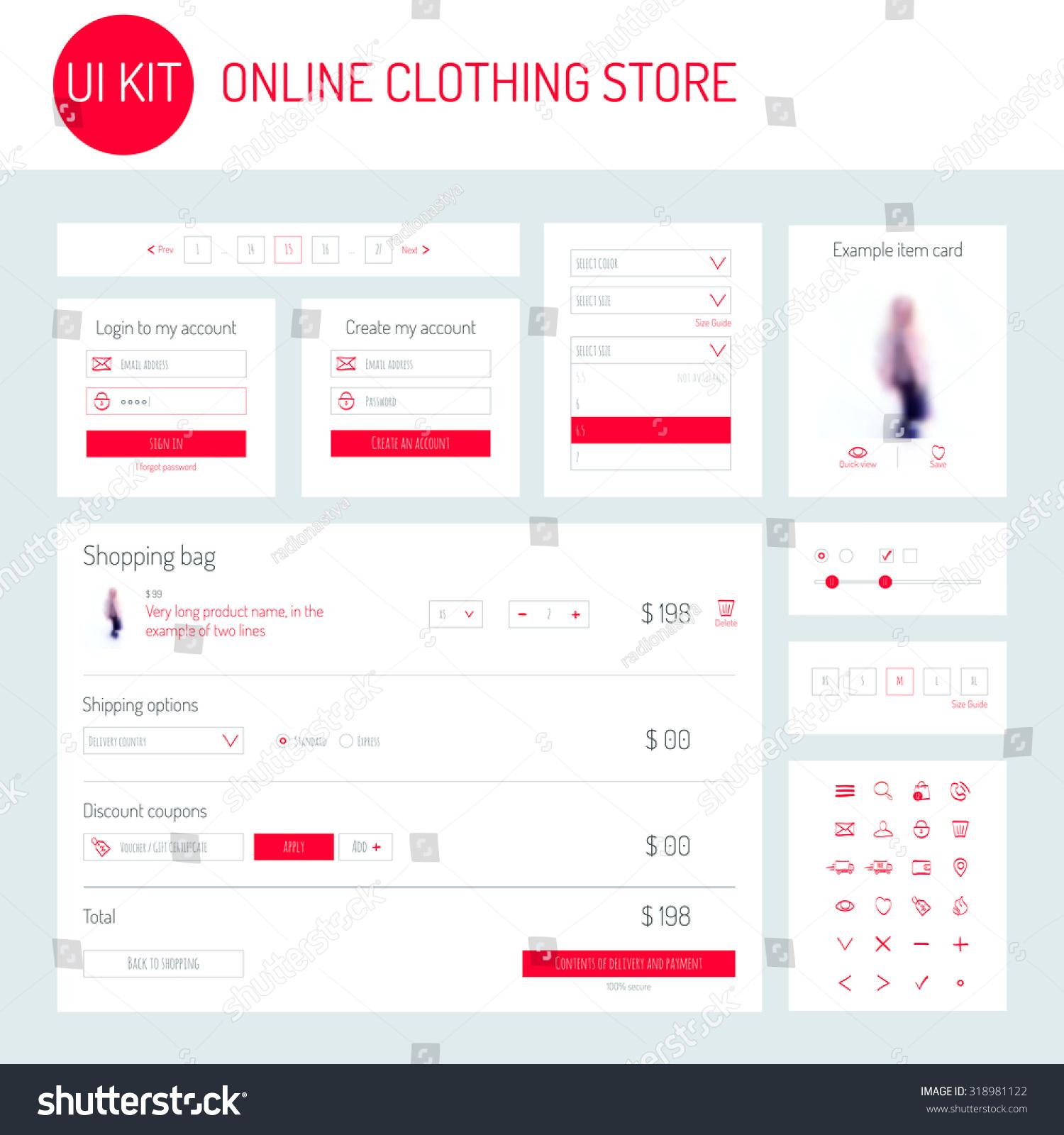 Login clothing store