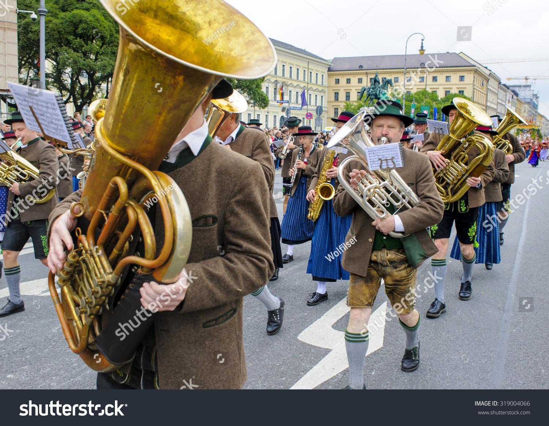 Munich Germany September 20 2015 Oktoberfest Stock Photo ...