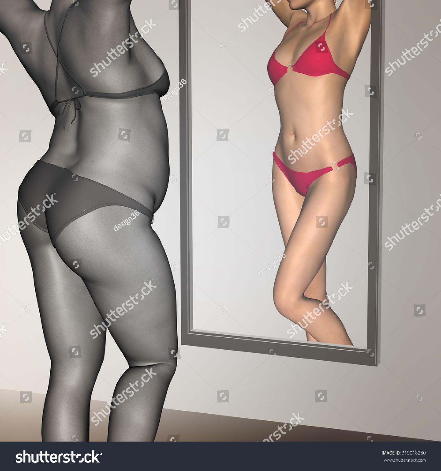 Vista previa gratuita de mujer gorda desnuda
