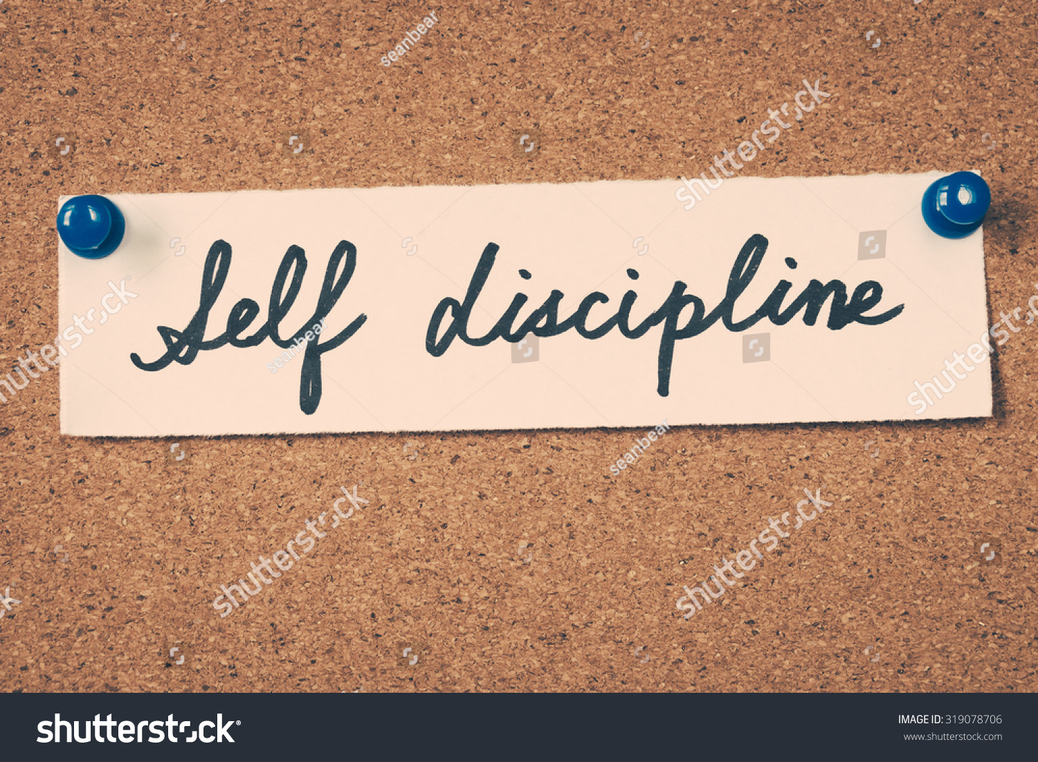 Self Discipline Stock Photo 319078706 - Shutterstock
