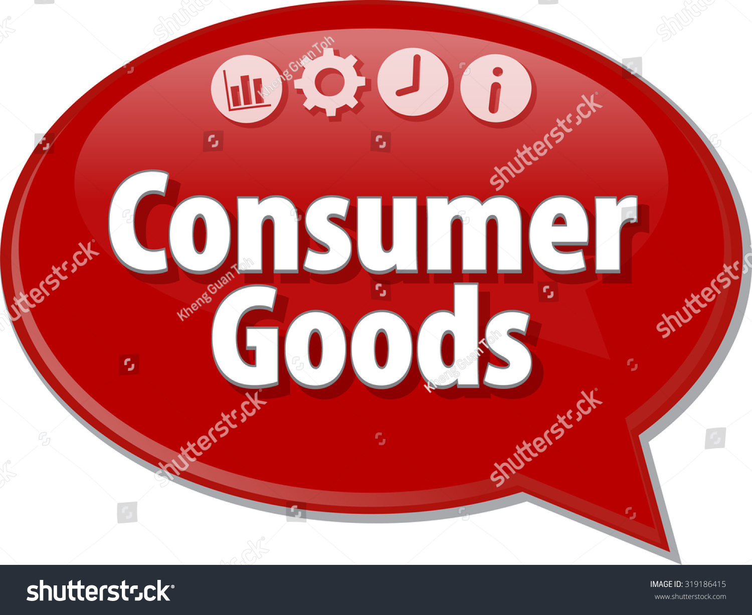 blank business strategy concept infographic diagram illustration consumer  goods