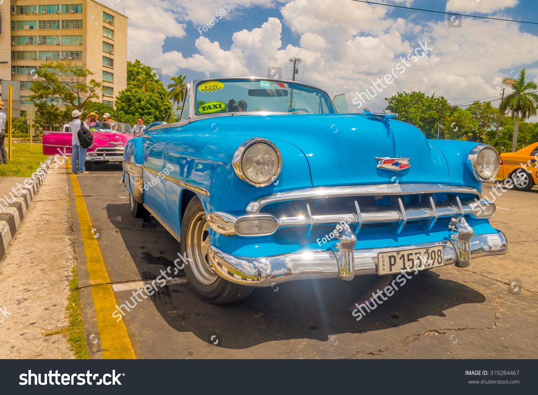 Havana Cuba August 30 2015 Old Stock Photo 319284467 - Shutterstock