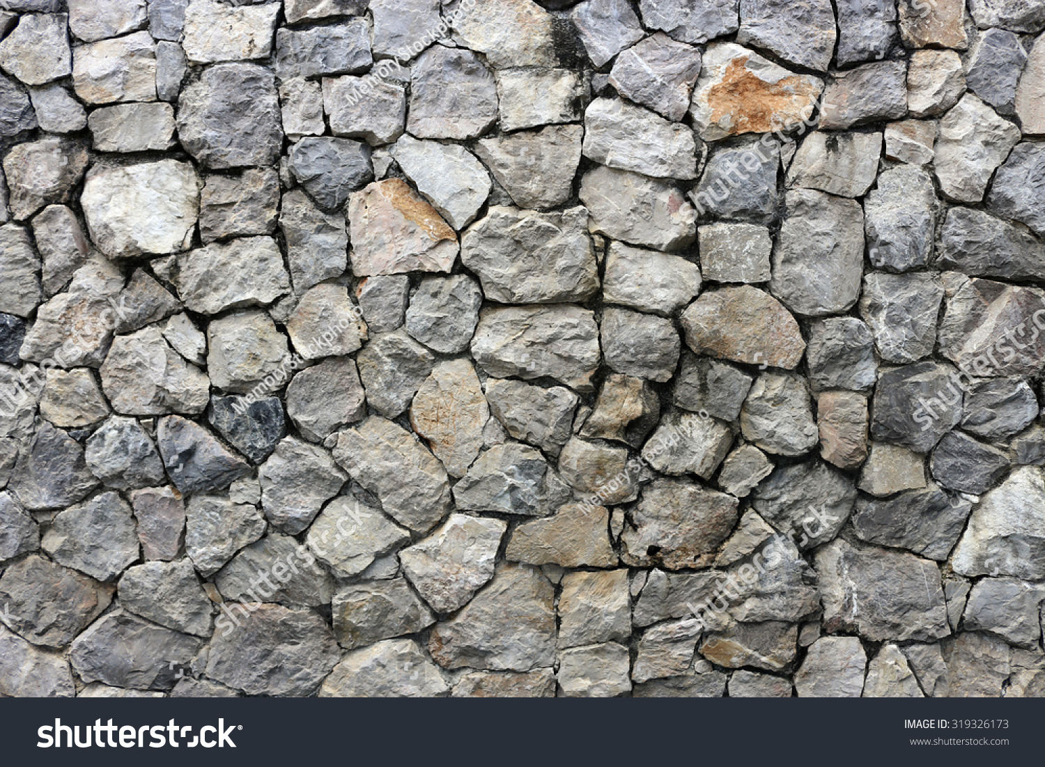 The Rock Wall Seamless Texture Stock Photo 319326173 ...
