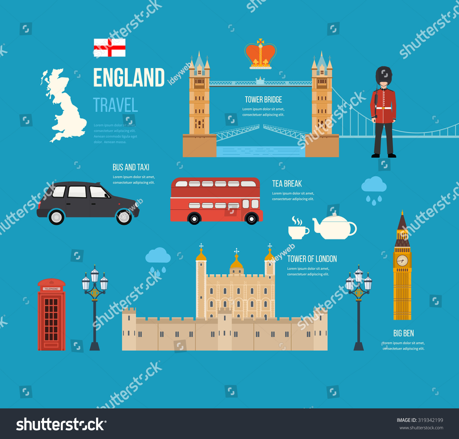 Stock Vector London United