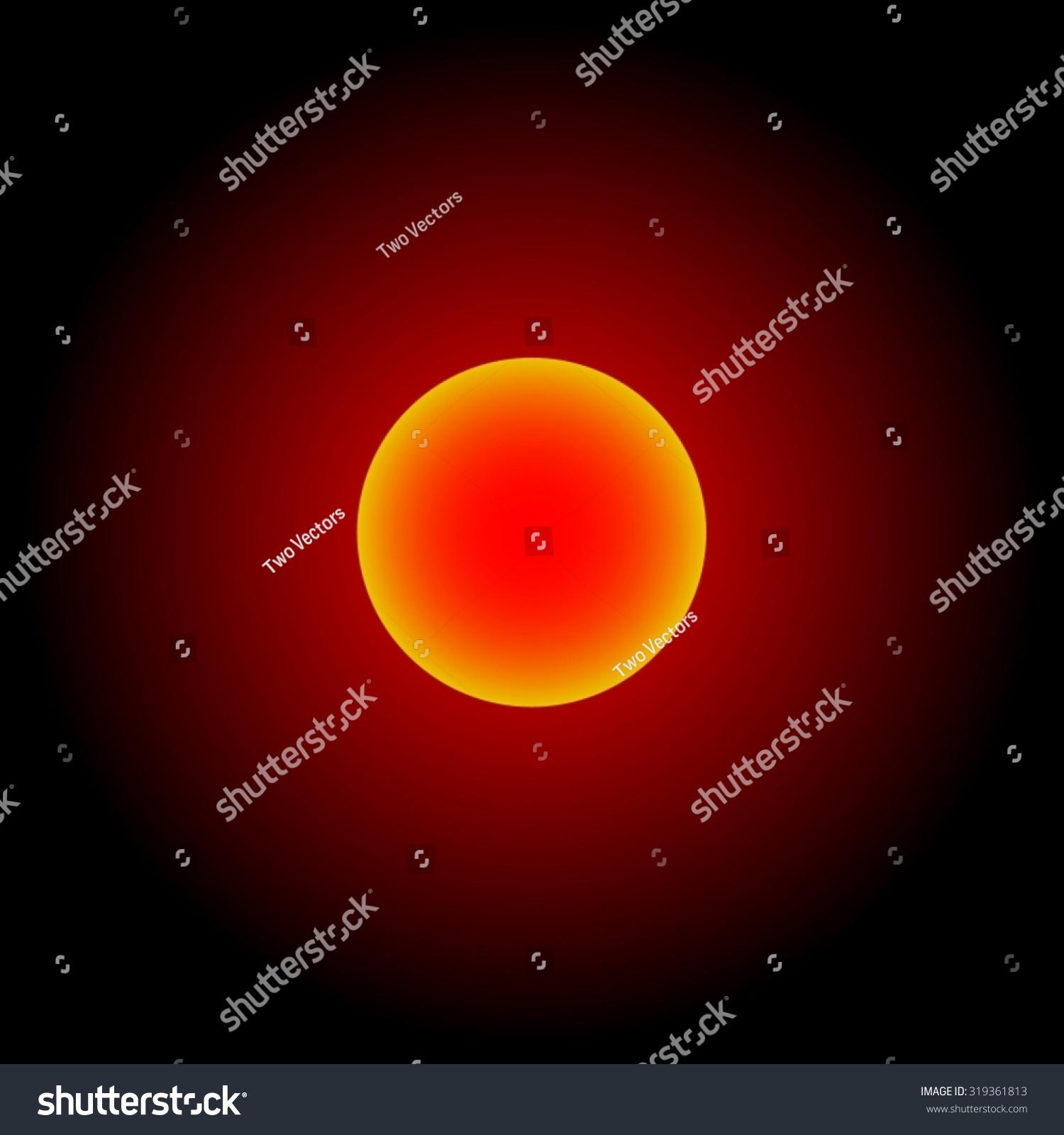 Kerberos Moon Of Plluto: Red Shinning Sun; Pluto; Jupiter; Charon; Moon; Dwarf
