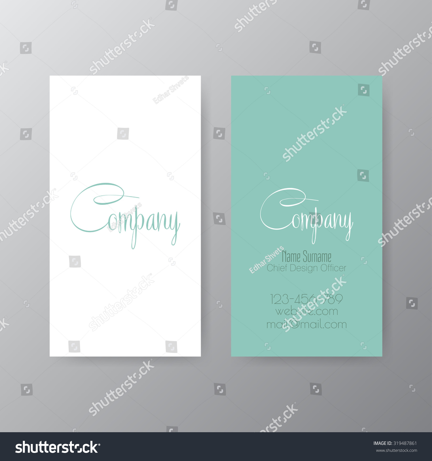 Editable business card set 85 x stock vector 319487861 shutterstock editable business card set 85 x 55 mm stylish professional and designer business card reheart Choice Image