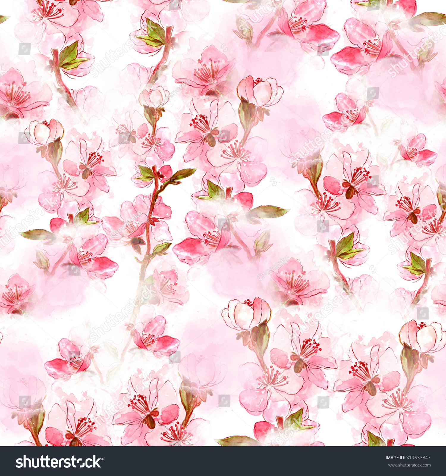 Delicate Japanese Cherry Blossoms