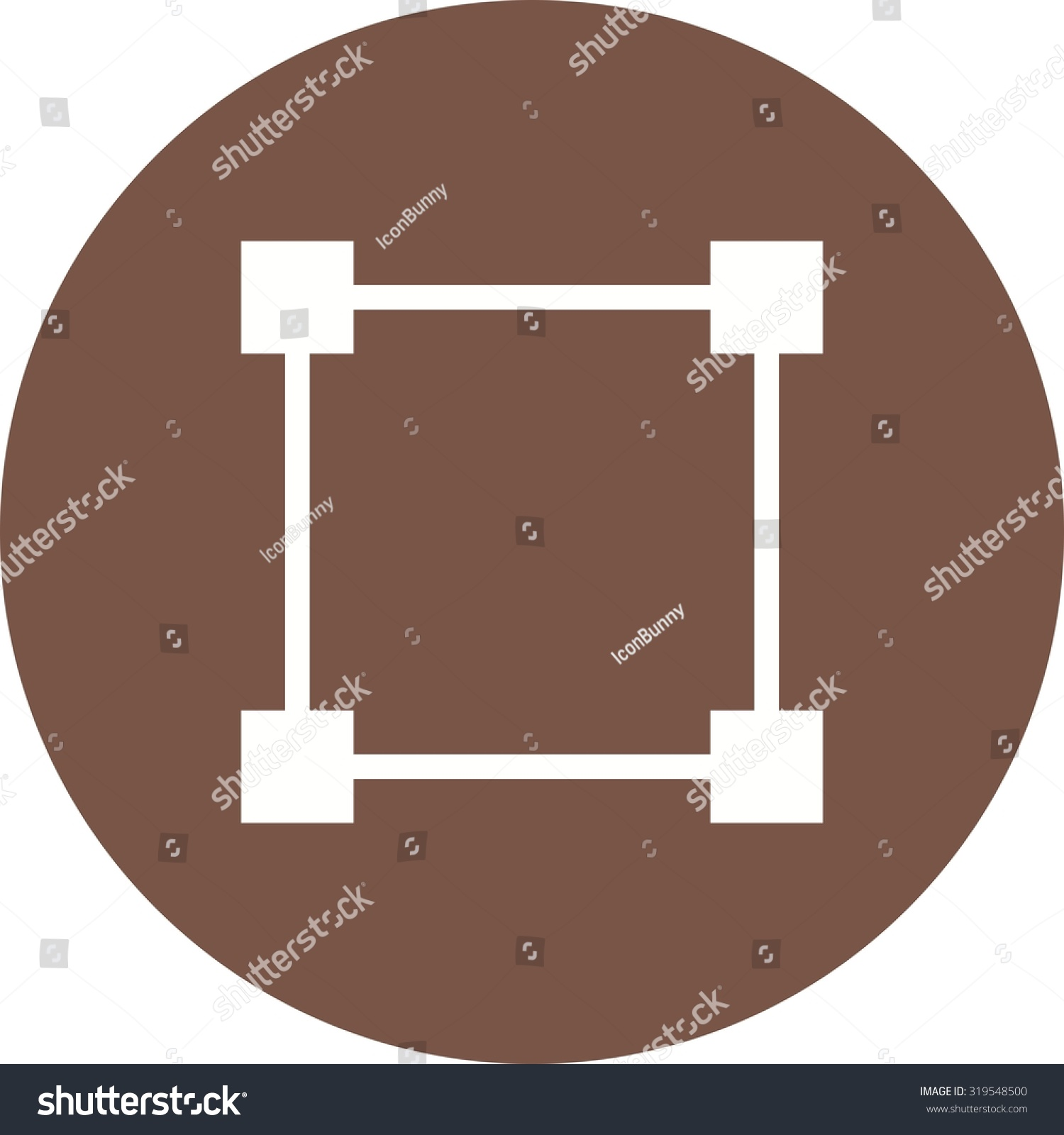 Node network diagram icon vector image stock vector 319548500 node network diagram icon vector image can also be used for shapes and ccuart Choice Image