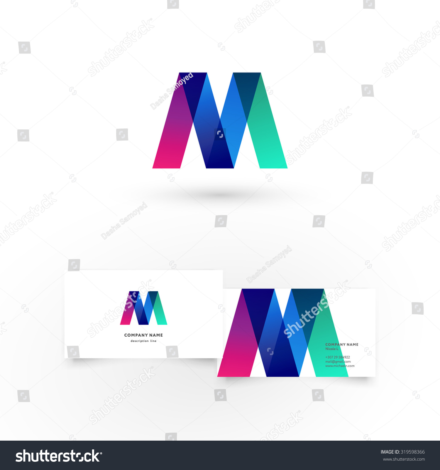 Triangle shaped business cards gallery free business cards inspirational pictures of triangle shaped business cards modern icon design m shape element stock vector magicingreecefo magicingreecefo Choice Image