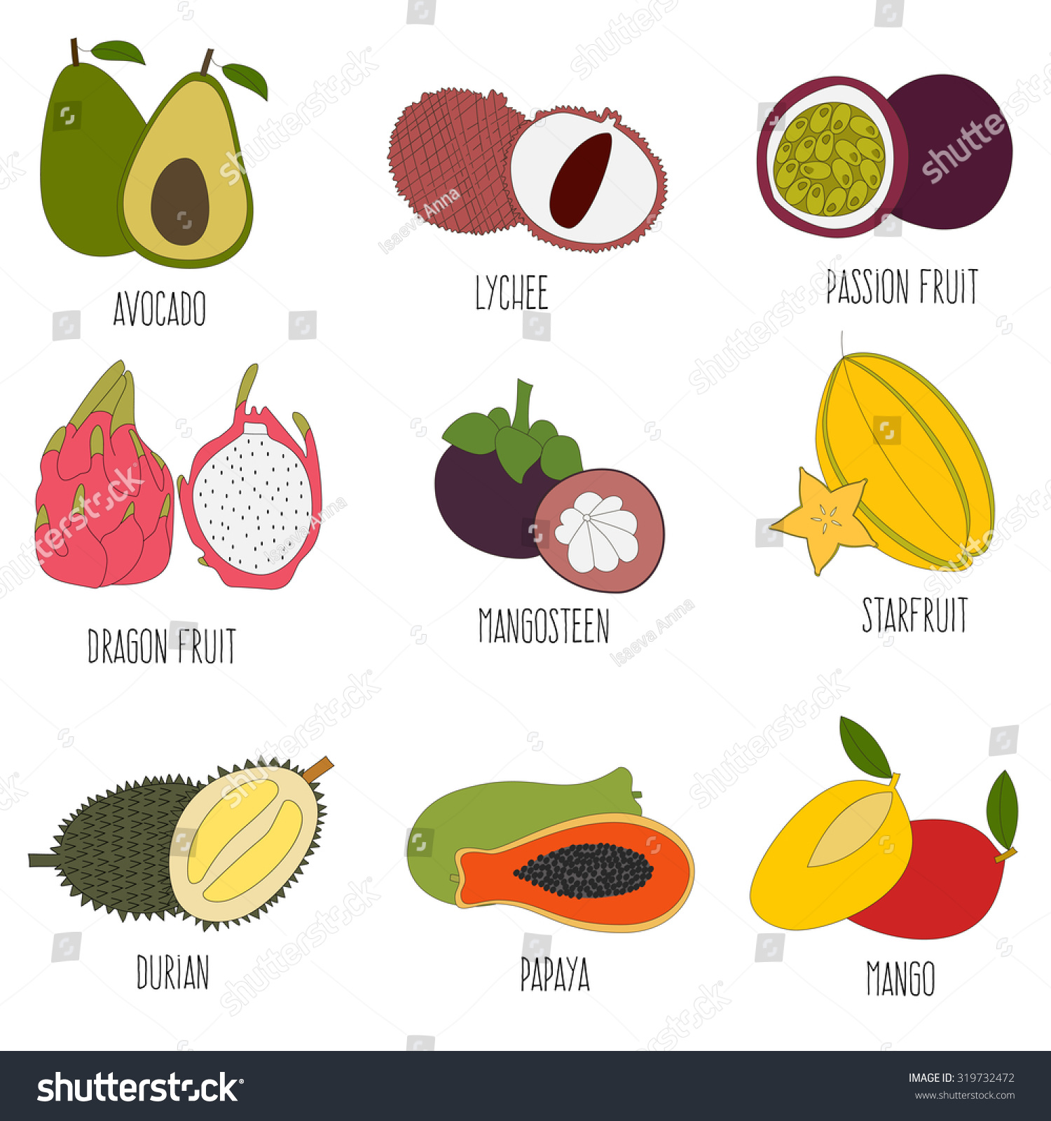 healthy fruit combinations exotic fruits